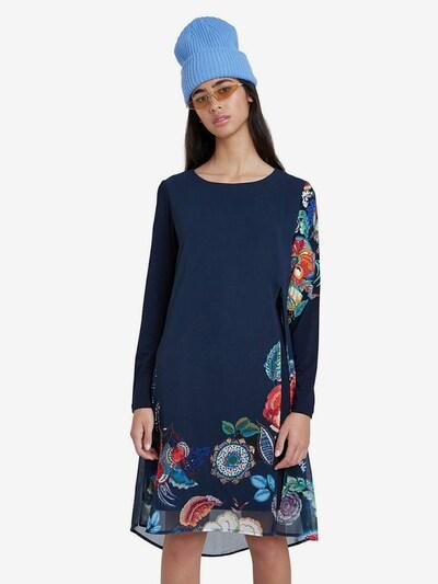Desigual Kleid 'Siena' in navy / mischfarben, Modelansicht