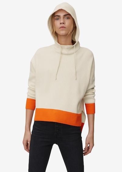 Marc O'Polo DENIM Pullover in beige / orange, Modelansicht