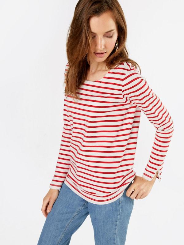 SCOTCH & SODA Langarmshirt 'breton stripe'