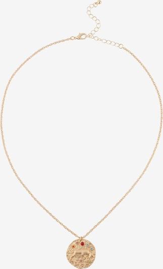 ABOUT YOU Chaîne 'Taurus Zodiac' en or, Vue avec produit