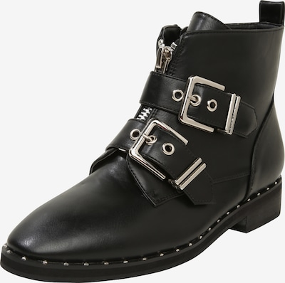 ABOUT YOU Stiefeletten 'Lilli' in schwarz: Frontalansicht