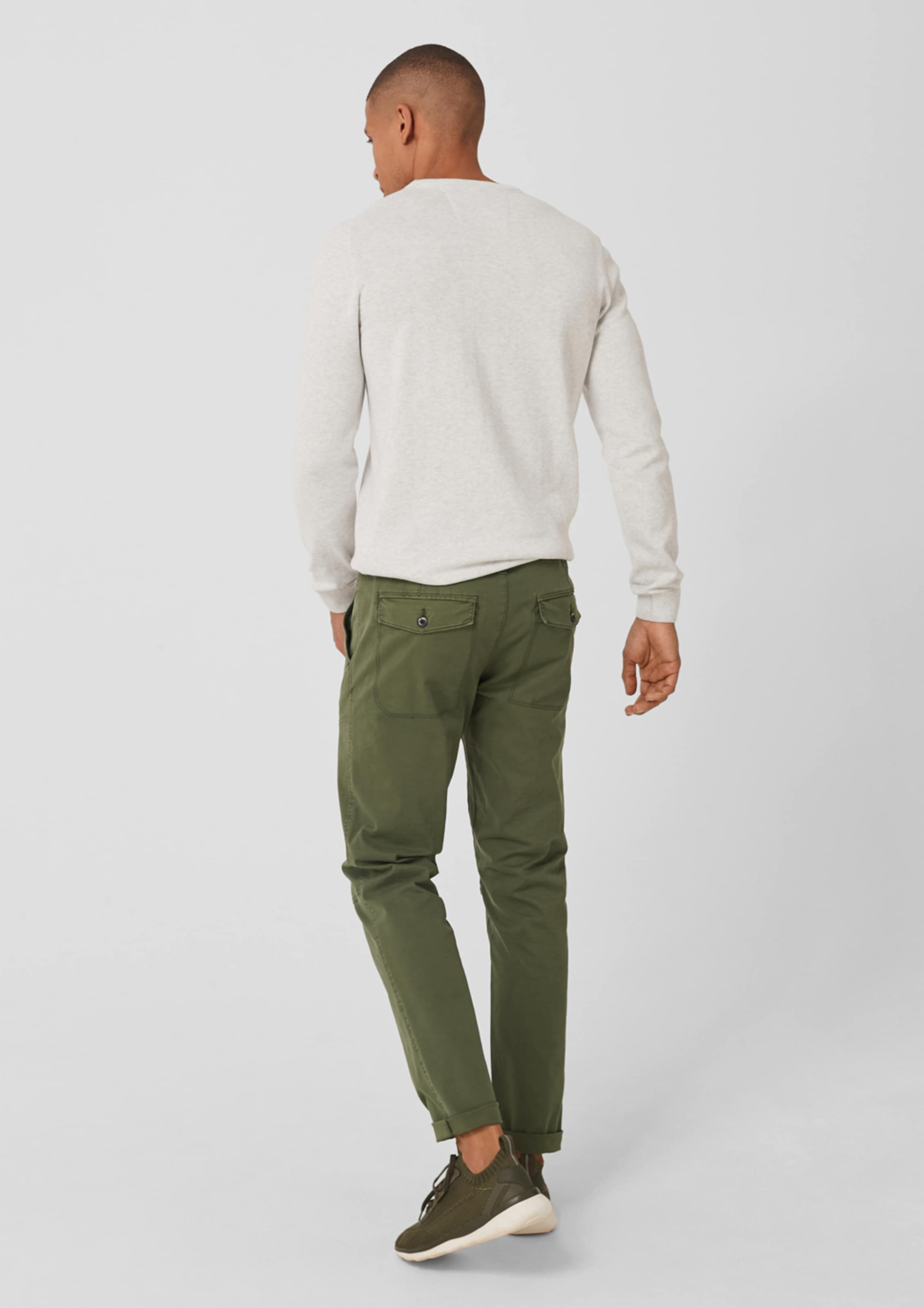 Label Tubx chino Red RegularStretch S oliver In Oliv FKuJTl1c35