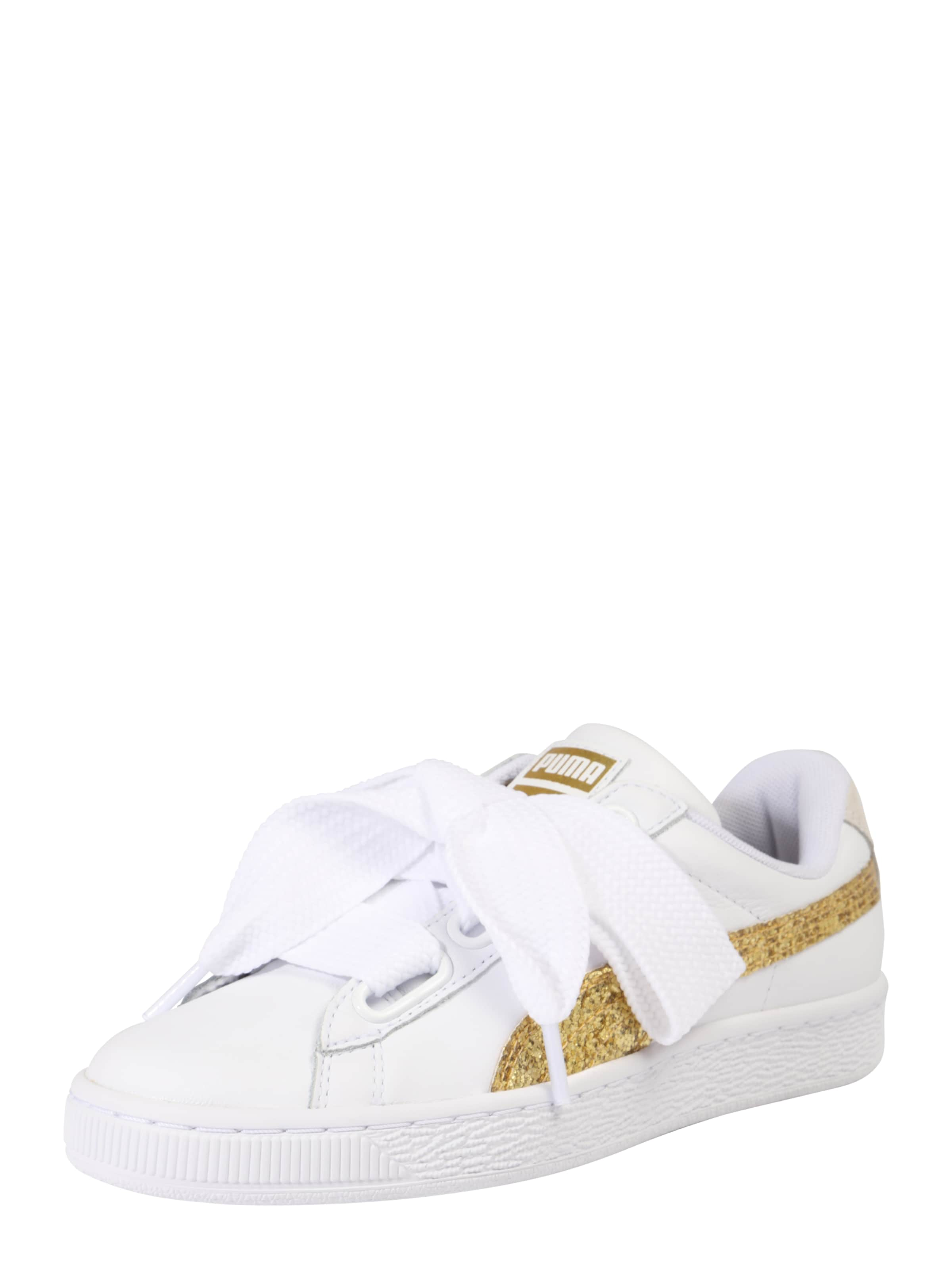 PUMA Sneaker  Basket Heart Glitter