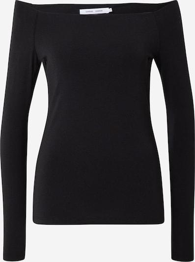 Samsoe Samsoe Shirt 'Nana ls 265' in schwarz, Produktansicht