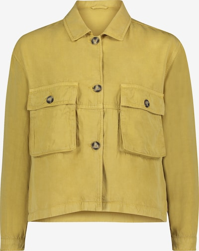 Cartoon Casual-Jacke mit aufgesetzter Brusttasche in gelb, Produktansicht