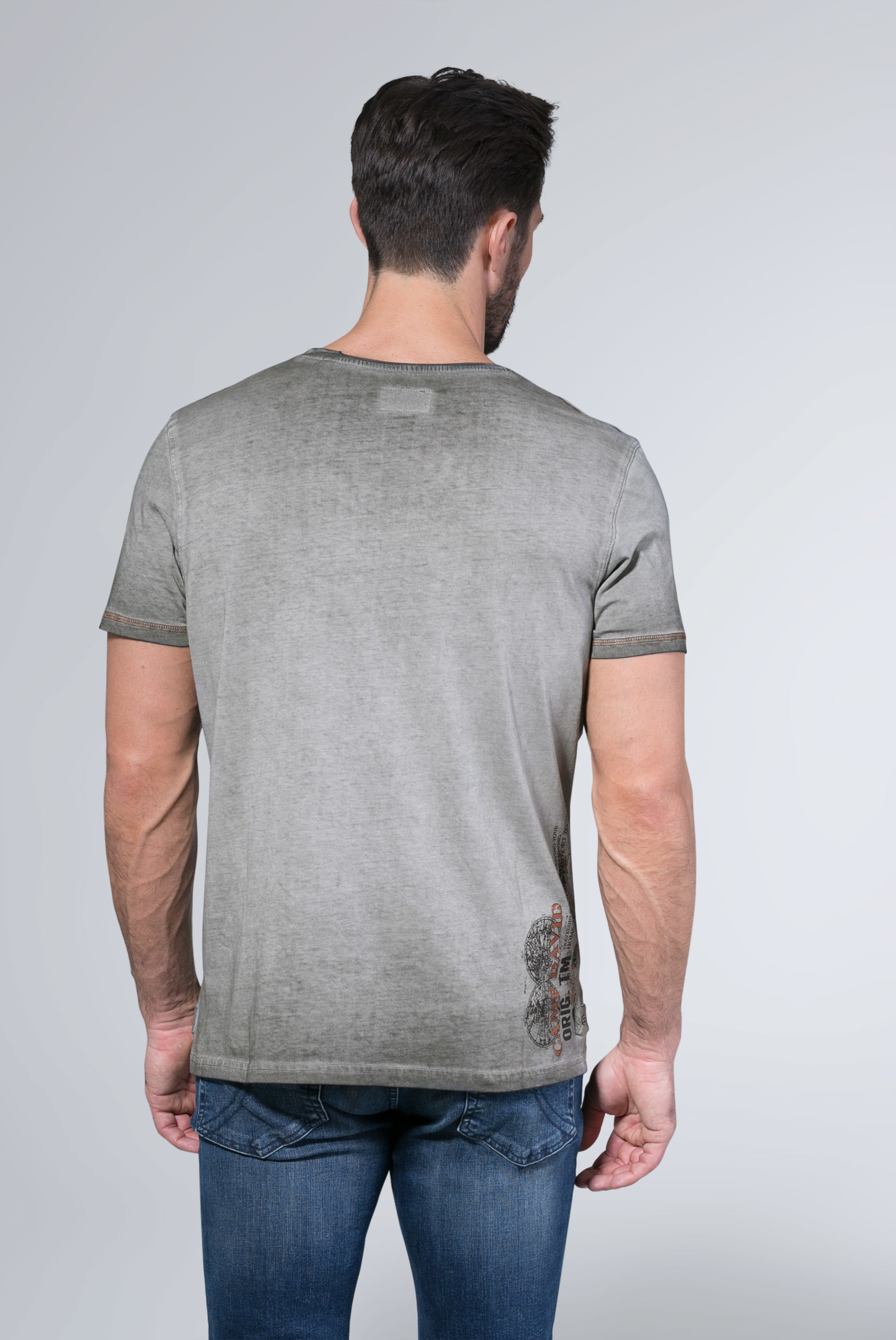 2018 shoes hot products factory authentic Camp David T In shirt CamelMischfarben n08OwPk