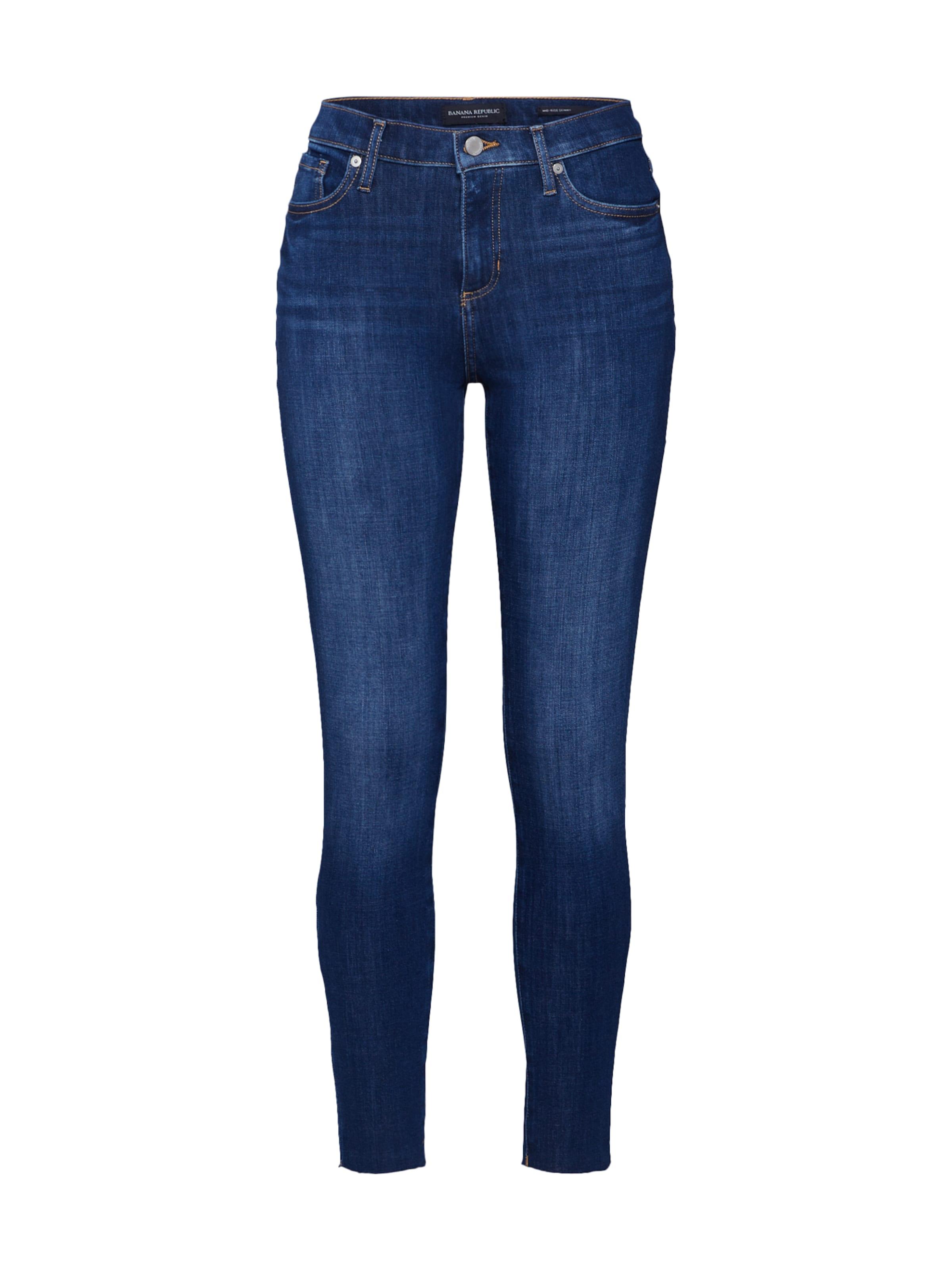 'mr Raw Banana Republic Blau Haight' Hem Medium In Skinny Jeans W9Y2eHIDE
