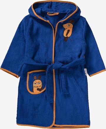 PLAYSHOES Bathrobe 'Maus' in Blue
