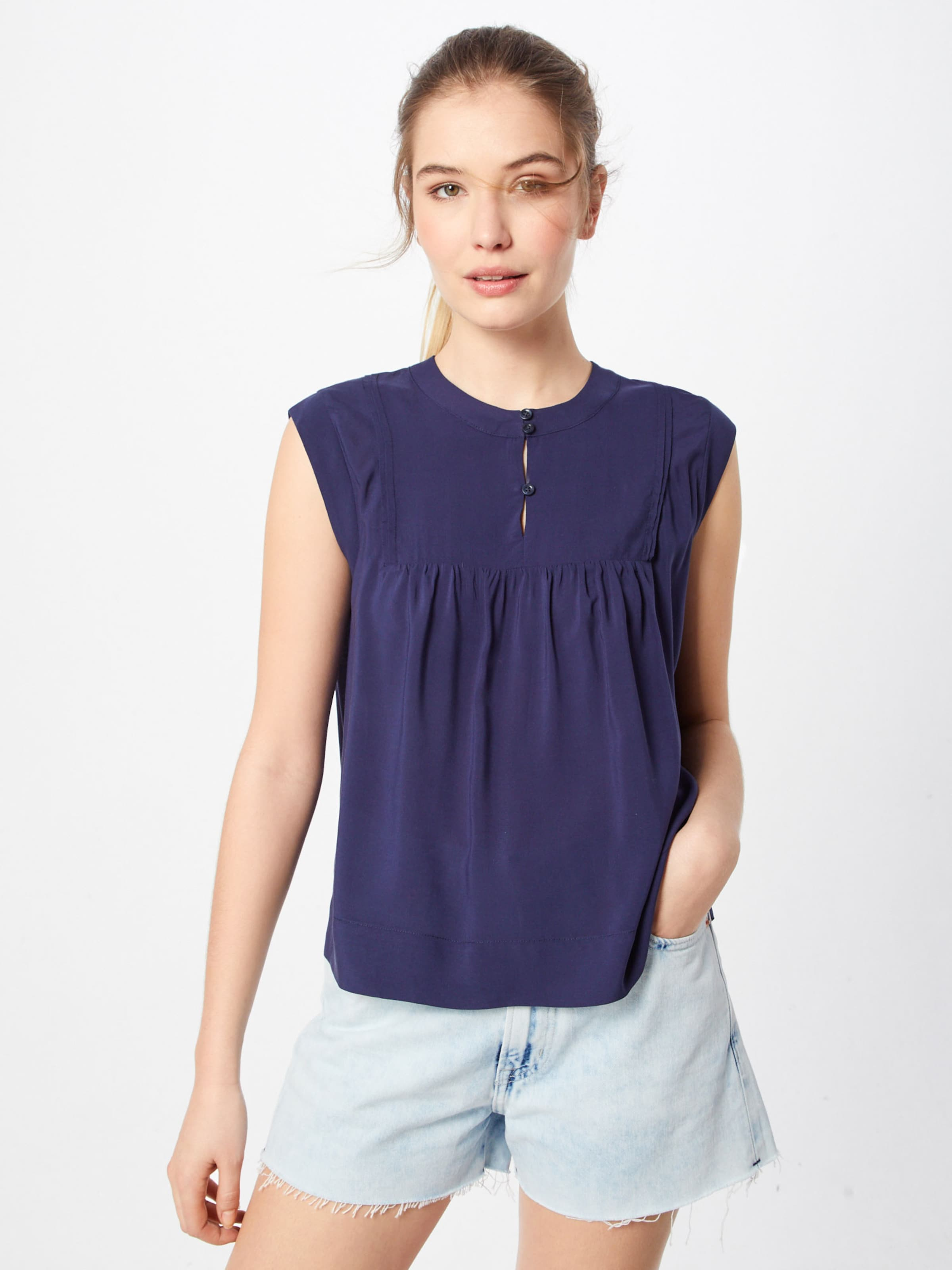 Tommy 'tjw Blouse' In Sleeveless Jeans Navy Bluse LSVGzpUMq