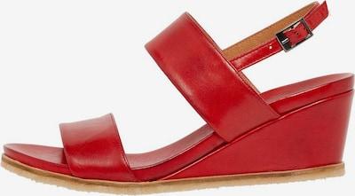 Bianco Sandale in rot, Produktansicht