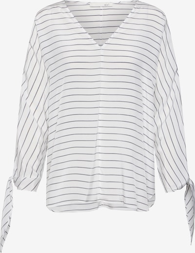 OUI Bluse 'Bluse' in schwarz / weiß, Produktansicht