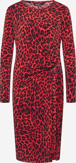 DKNY Kleid in rot / schwarz, Produktansicht