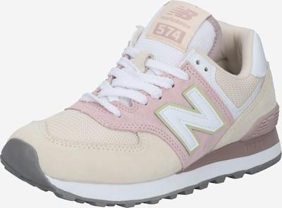 new balance Sneaker 'WL574' in beige / rosa, Produktansicht