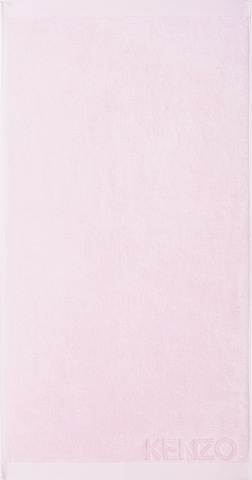Kenzo Home Towel 'ICONIC' in Pink