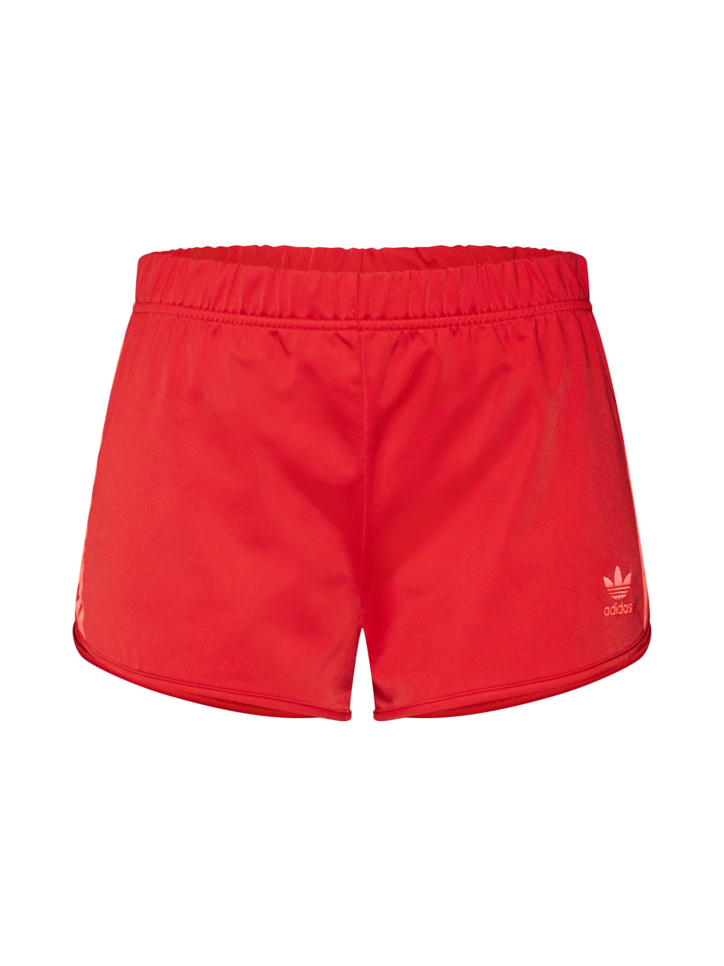 Originals Pantalon Str Adidas En '3 Rouge Short' n80OkPw