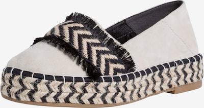 Espadrile TAMARIS pe negru / alb / alb natural, Vizualizare produs
