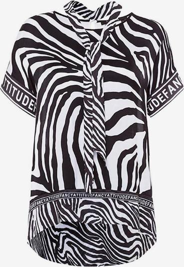 MARC AUREL Bluse ' Shirtbluse ' in schwarz / weiß, Produktansicht