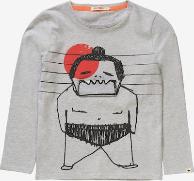 Billybandit Shirt in graumeliert / orange / schwarz, Produktansicht
