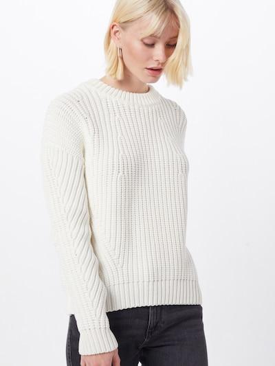 BOSS Pullover 'Waynetta' in weiß, Modelansicht