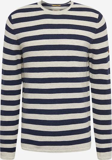 CAMEL ACTIVE Pullover in navy / weiß, Produktansicht