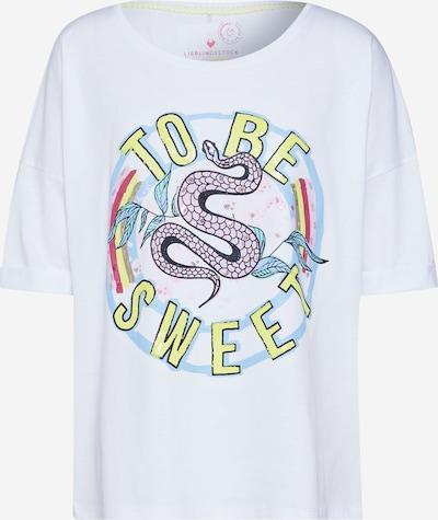 LIEBLINGSSTÜCK T-Shirt in weiß, Produktansicht