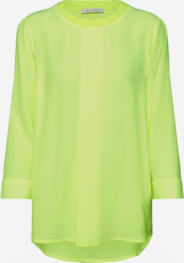Rich & Royal Bluse 'Blouse with knit collar' in gelb, Produktansicht