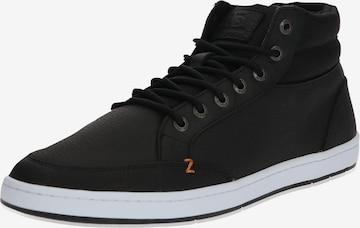 Sneaker înalt 'Industry 2.0' de la HUB pe negru