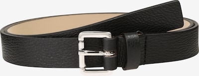 HUGO Ledergürtel 'Mayfair' in schwarz / silber, Produktansicht