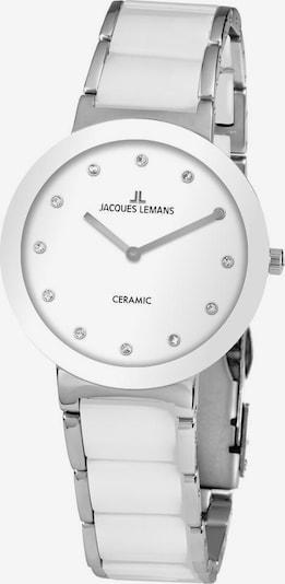Jacques Lemans Quarzuhr 'High-Tech 42-7H' in silber / weiß, Produktansicht