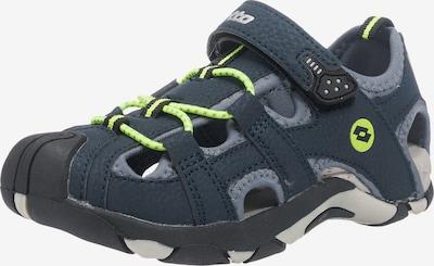 LOTTO Sandalen 'SUMATRA III CL' in nachtblau / neongelb / grau, Produktansicht