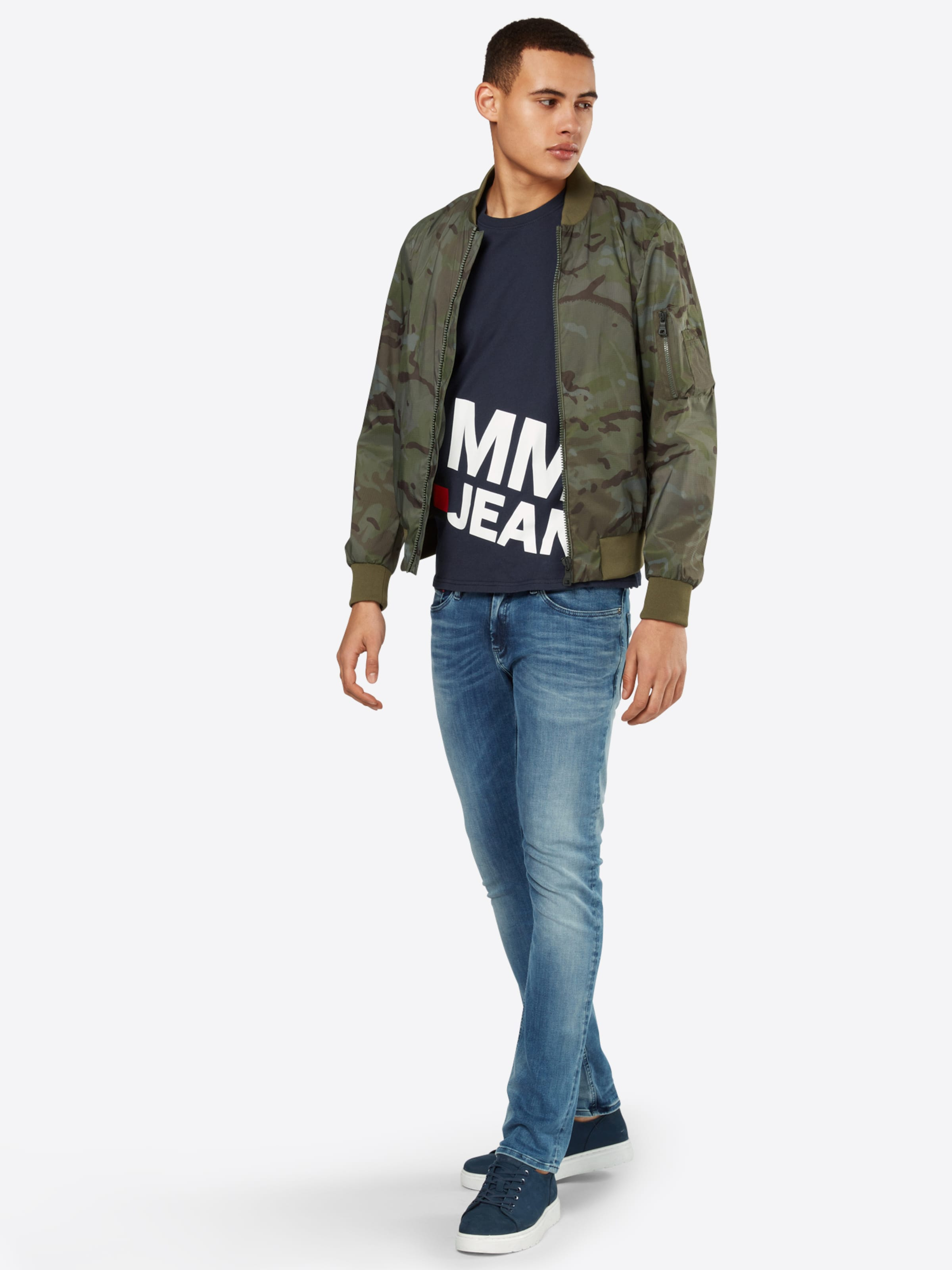 Tommy 'TJM ESSENTIAL MAGNIFIED T Tommy Shirt Jeans Jeans LOGO' w5XSqBW