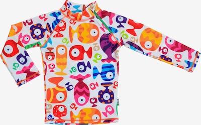 SWIMPY Schwimmshirt 'Funny Fish' in mischfarben / weiß, Produktansicht