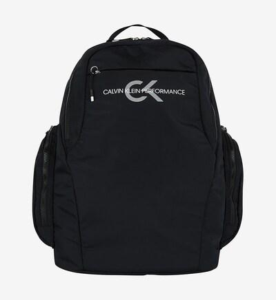 """Calvin Klein Rucksack """"Logo Backpack"""" in schwarz: Frontalansicht"""