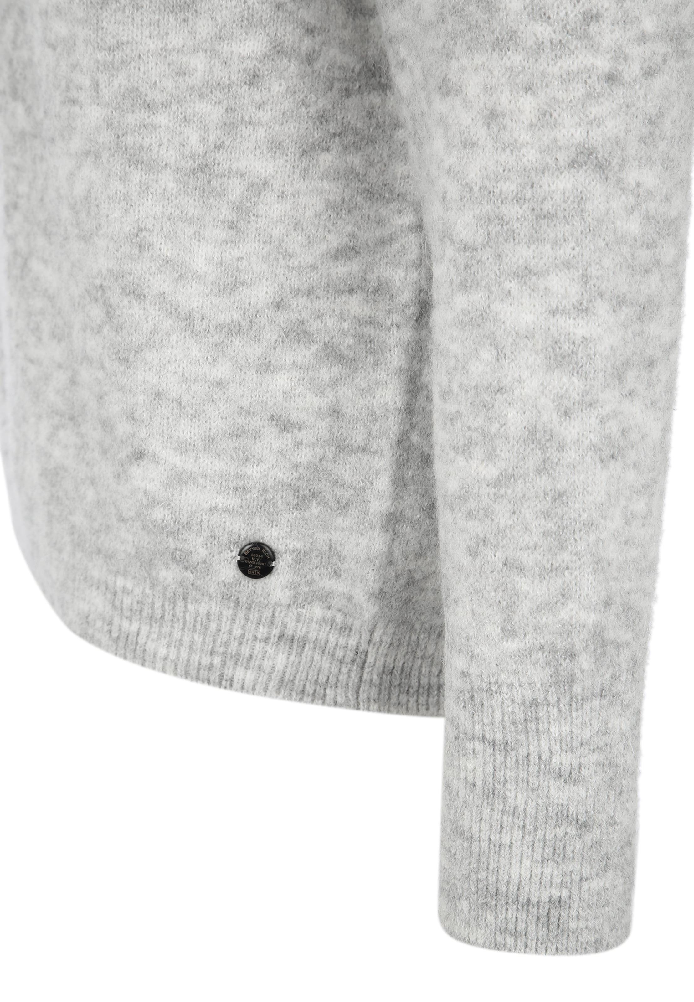BETTER RICH Pullover 'CREW NECK' in grau