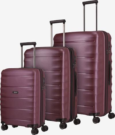 TITAN Kofferset in merlot, Produktansicht
