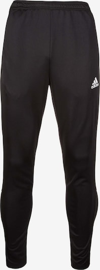 ADIDAS PERFORMANCE Trainingshose 'Condivo 18 Low-Crotch' in schwarz / weiß: Frontalansicht