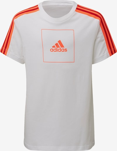 ADIDAS PERFORMANCE Sport-Shirt in orange / weiß, Produktansicht