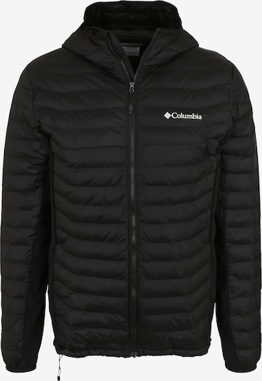 COLUMBIA Sportjas 'Powder Pass Hooded' in de kleur Zwart, Productweergave