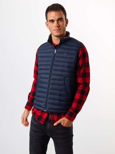 TOMMY HILFIGER Weste 'CORE PACKABLE DOWN VEST' in navy: Frontalansicht