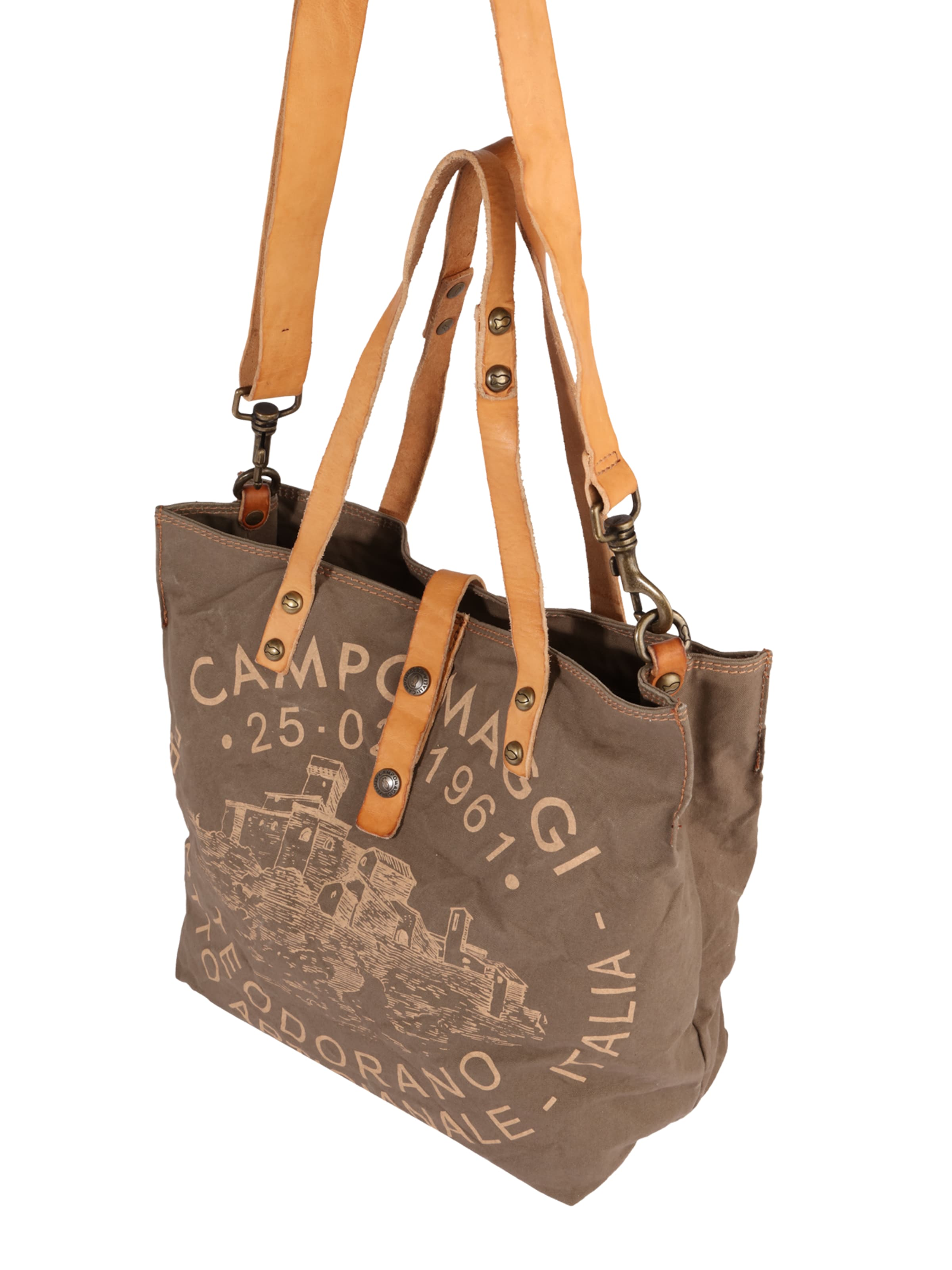 Campomaggi Shopper mit Print Authentisch 8Q4Iq