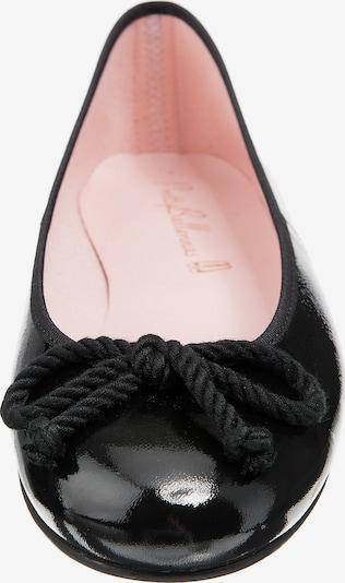 PRETTY BALLERINAS Ballerines 'Ipnotic' en noir, Vue avec produit