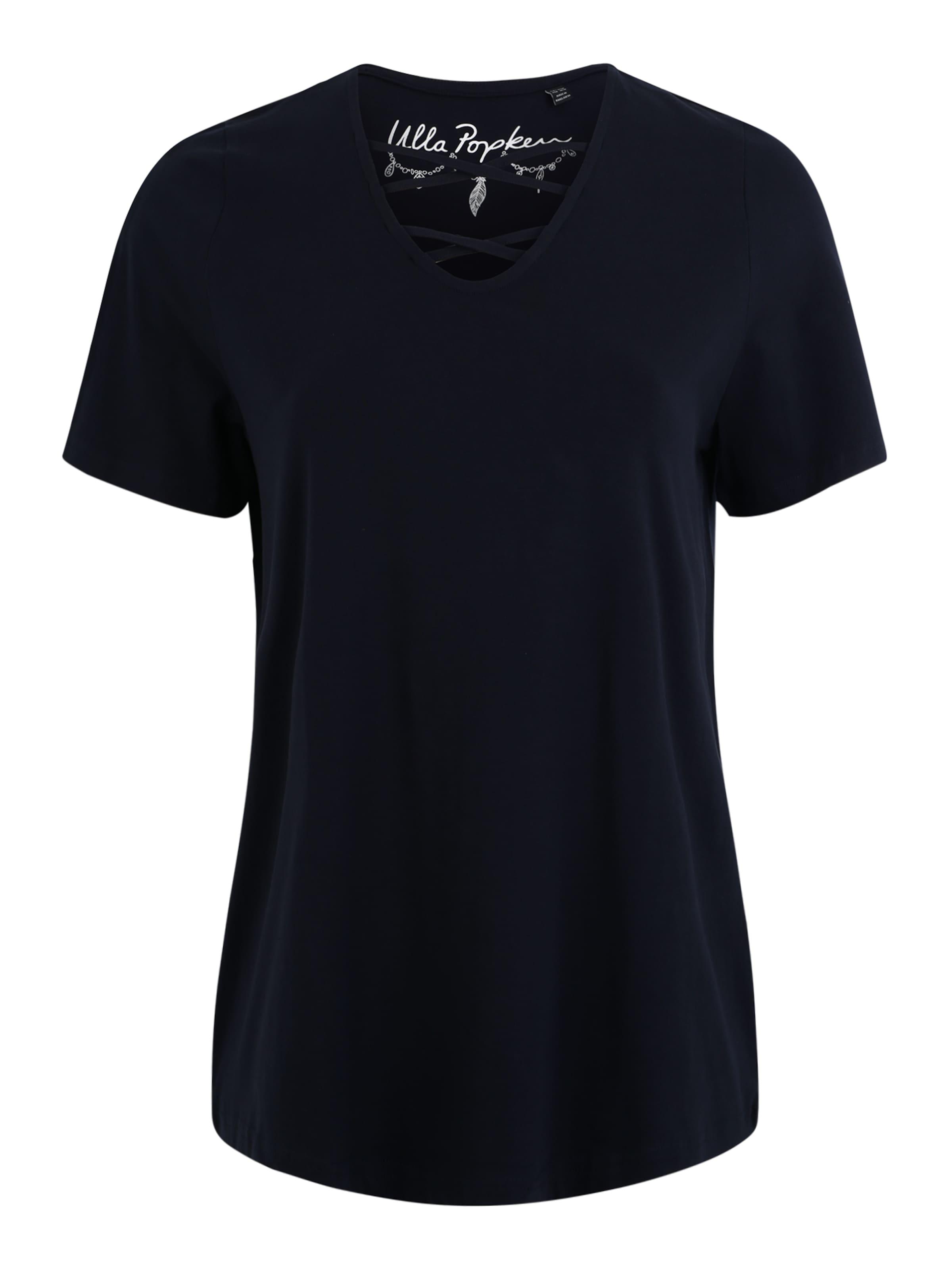 Bleu En shirt Popken Foncé T Ulla jA54q3LR