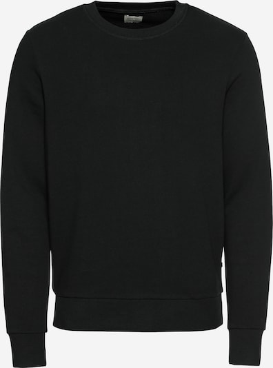 JACK & JONES Sweatshirt in schwarz, Produktansicht