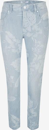 Angels Jeans ,Ornella' mit modischem Streifen- und Blumenprint in hellblau, Produktansicht
