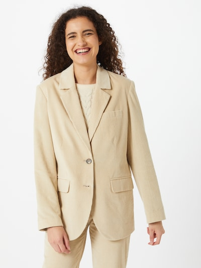 Pepe Jeans Blazer 'Cordelia' in beige, Modelansicht