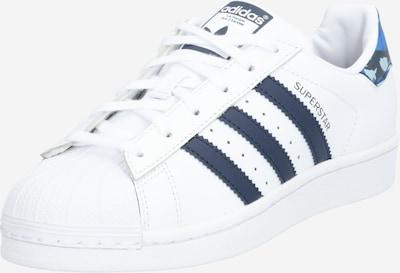 ADIDAS ORIGINALS Sneaker 'Superstar' in weiß: Frontalansicht