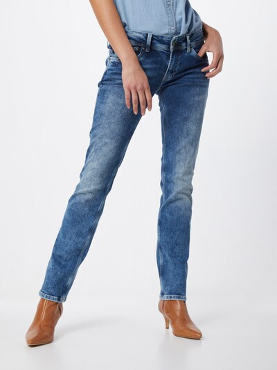 Pepe Jeans Jeans 'Saturn' in blue denim: Frontalansicht