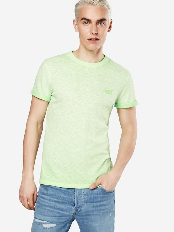 Superdry T-Shirt 'ORANGE LABEL LOW ROLLER TEE'