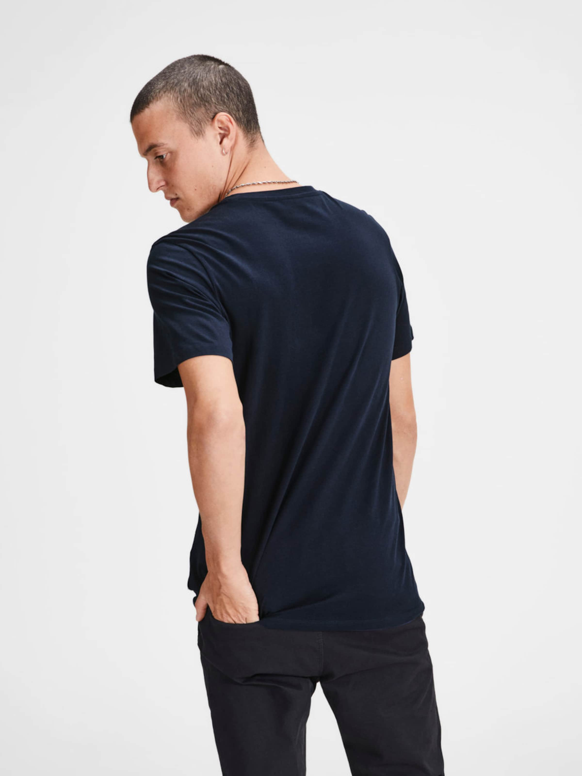 Factory-Outlet-Verkauf JACK & JONES Print T-Shirt Freie Verschiffen-Websites V40QD