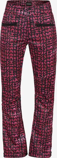 CHIEMSEE Skihose in pink / schwarz, Produktansicht